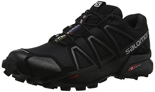 Salomon Herren Speedcross 4 Traillaufschuhe, schwarz