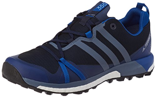 adidas Herren Terrex Agravic GTX Traillaufschuhe, Blau