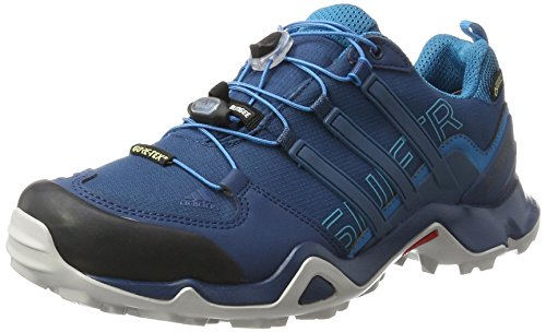 adidas Herren Terrex Swift R GTX Trekking-& Wanderhalbschuhe, Blau Blue Night