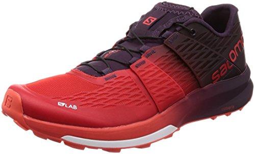 Salomon Unisex-Erwachsene S/lab Sense Ultra 2 Trekking-& Wanderhalbschuhe, Rot