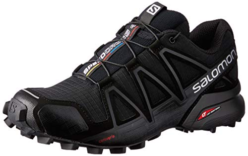 Salomon Damen Speedcross 4, Trailrunning-Schuhe, schwarz