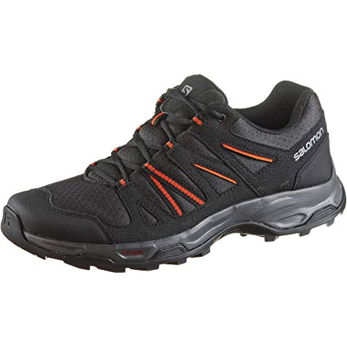 Salomon Redwood 3 Herren Trekking Trailschuh, schwarz
