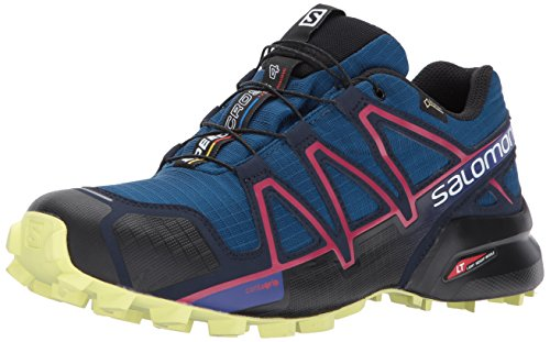 Salomon  Speedcross 4 GTX  Damen Trailrunning-Schuhe, Blau