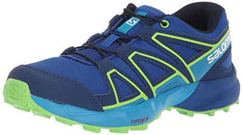 Salomon Unisex-Kinder Speedcross J Traillaufschuhe, Blau