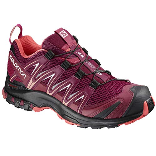 Salomon Damen XA Pro 3D W, Trailrunning-Schuhe, rot