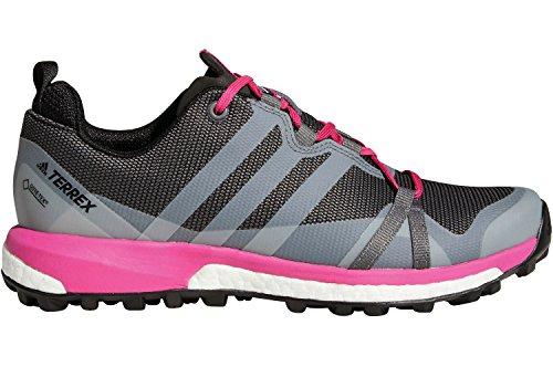adidas Damen Terrex Agravic GTX W Traillaufschuhe, Grau