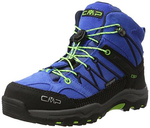 CMP Unisex Rigel Mid Wp Trekking-& Wanderstiefel, Blau