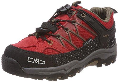 CMP Unisex-Kinder Rigel Trekking-& Wanderhalbschuhe, Rot