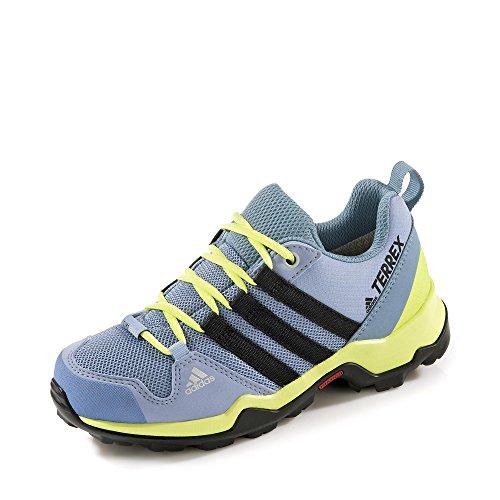 adidas Unisex-Kinder Terrex Ax2r Cp K Trekking-& Wanderhalbschuhe, Blau
