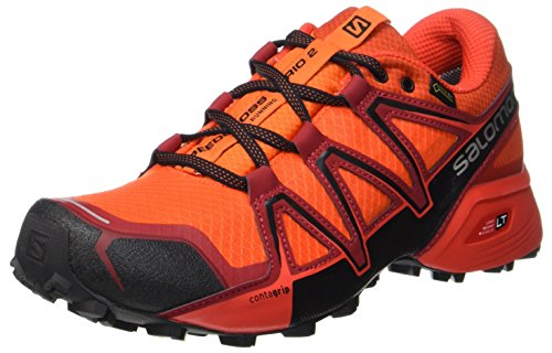 Salomon Speedcross Vario 2 Gtx, Herren Traillaufschuhe, Orange