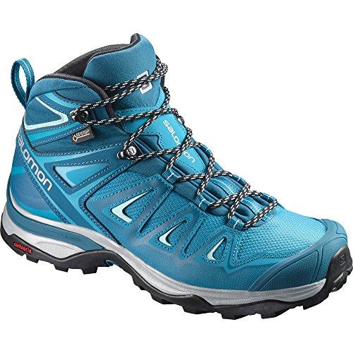 Salomon Damen X Ultra 3 Mid GTX W Trekking-& Wanderstiefel, Blau