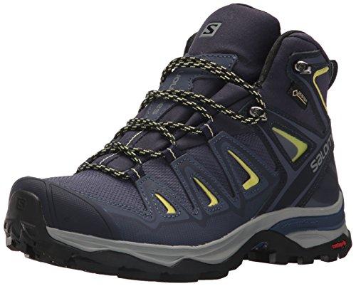 Salomon Damen Multi-Stiefel X Ultra 3 Mid GTX Women Trekking-& Wanderstiefel, Blau