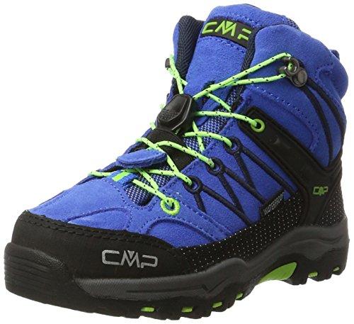 CMP Unisex-Kinder Rigel Mid WP Trekking- & Wanderstiefel, Türkis