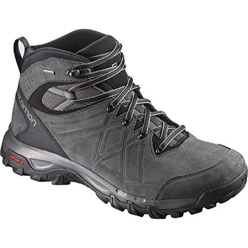 Salomon Herren Evasion 2 MID LTR GTX Hiking- und Multifunktionsschuhe, Synthetik/Textil, grau