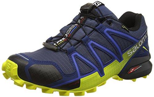Salomon Herren Speedcross 4 GTX Trailrunningschuhe, blau