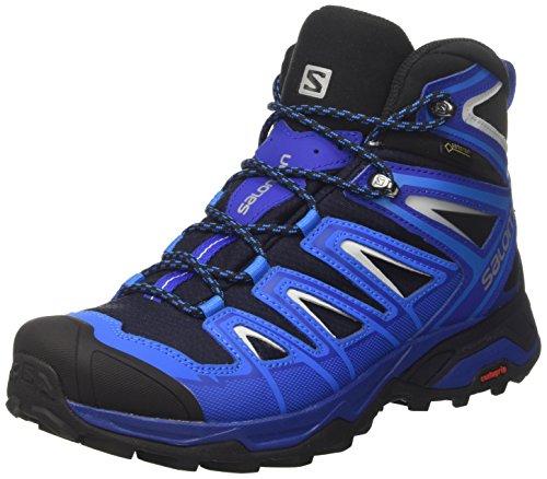 Salomon Herren X Ultra 3 Mid GTX Trekking-& Wanderstiefel, Blau