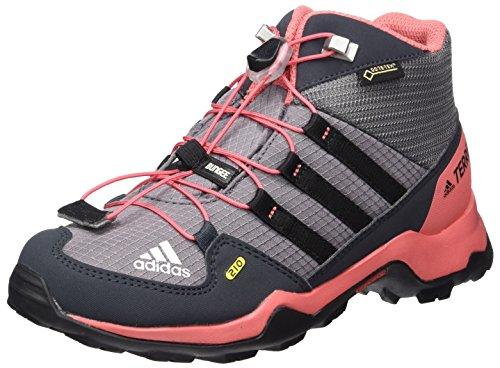 Adidas Unisex-Kinder Terrex Mid Gtx Wanderstiefel, grau