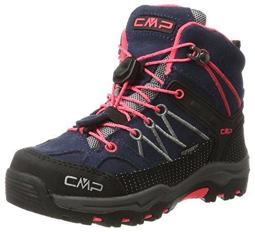 CMP Rigel Mid Wp Unisex-Kinder Trekking-& Wanderschuhe, Grau