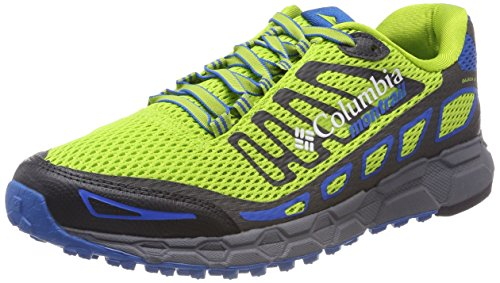 Columbia Herren Trailrunning-Schuhe, BAJADA III, Grün