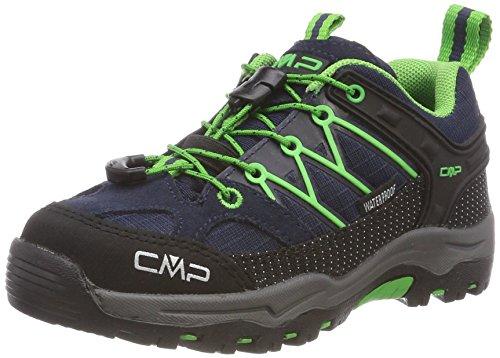 CMP Unisex-Kinder Rigel Low Trekkingschuhe, Blau