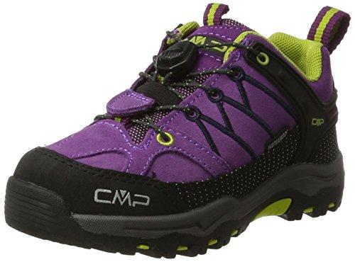 CMP Unisex-Kinder Rigel Low Wp Trekkingschuhe, Violett