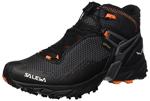 Salewa Ms Ultra Flex Mid Gtx, Herren Trekking- & Wanderhalbschuhe, Schwarz